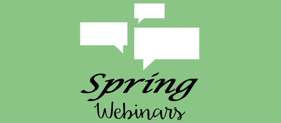Spring Webinar Series Slider